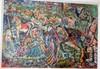 Vintage Painting Circus Burliuk oil