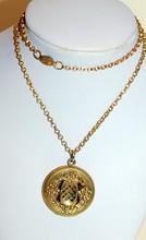 Old gold fill locket