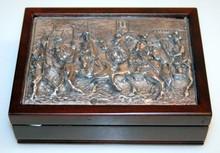 Vintage Winograd sterling box- repousse