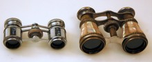 Vintage opera glasses/MOP and abalone