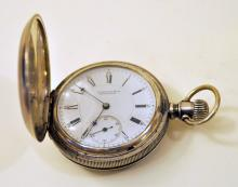 Silver Howard antique pocketwatch