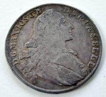 Silver Bavarian 1765 coin