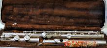 Cased flute -Buescher Aristocrat