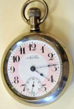 Pocketwatch vintage/railroad on reverse