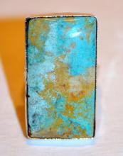 Sterling turquoise ring/custom