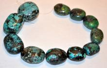 Turquoise natural drilled beads