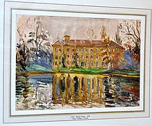 Watercolor signed Hayley Lever /England