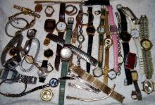 Collection vintage wristwatches/ Casio plus