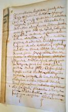 1671 letter/parchment - German with wax seal