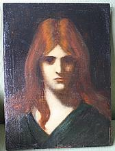 Jean-Jacques Henner (1829 - 1905), in the style of.
