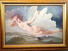 Maria Szantho nude painting hungarian