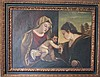 Italian old master painting madonna and child 17th century
