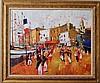 Bernard Lignon French Mid-century modern painting