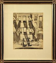 George Benjamin Luks Drawing