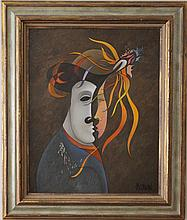 Philippe Marchand surrealist painting mid-century
