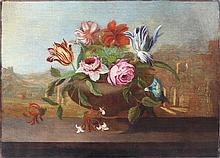 Italian Old Master Baroque 17th century Still Life Floral painting