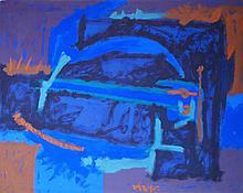 Rodolfo Nieto abstract painting 1964