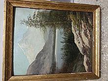 Mountain Landscape Mystery Artist