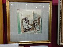 Jules Pascin (1885-1930) Russian French. Cuba painting