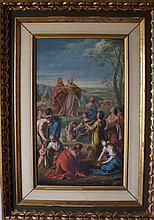 French Old Master Circle of Charles LeBrun biblical scene
