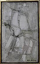 Leon Zack Russian French Modern 1958 Abstrait