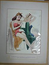 John Ruge Colliers Magazine Illustration Cartoon