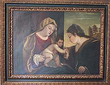 Venetian School 17th century Old Master Painting
