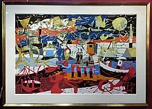 Claude Venard Painting