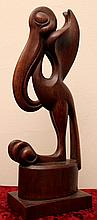 James House, Jr. (1898-1980) Sculpture