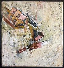 John Saccaro 1959 Abstract painting
