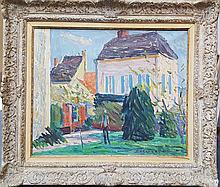 Emile Sabouraud French Fauvist style painting