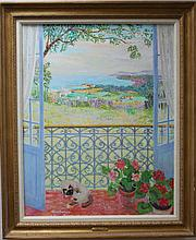 Jean Venitien French Matisse Cavailles style painting