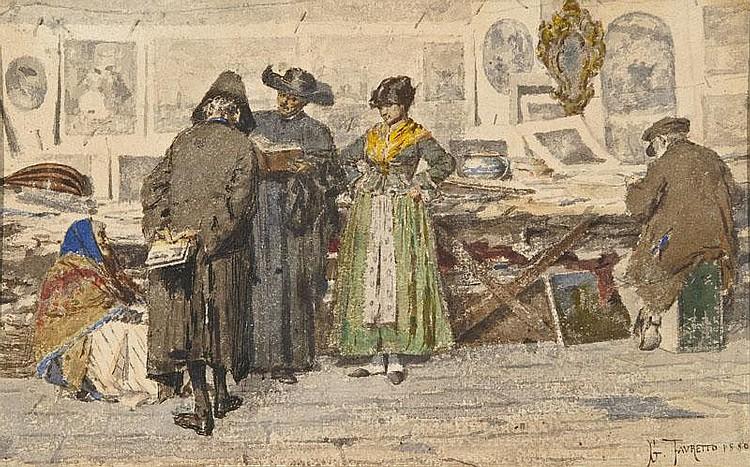 Giacomo Favretto Venezia 1849 - 1887 La bottega