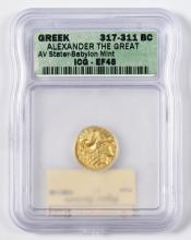 Alexander the Great AV Stater Coin, Babylon Mint