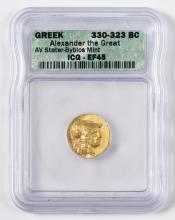 Alexander the Great AV Stater, Byblos Mint