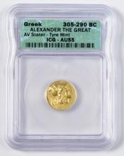 Alexander the Great AV Stater, Tyre Mint