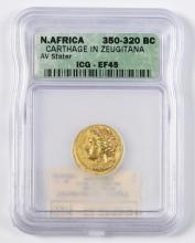 Carthage Gold AV Stater, Zeugitana, North Africa