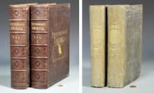 1850 Book of the World w/ Maps & Slave Census plus Picturesque America Set