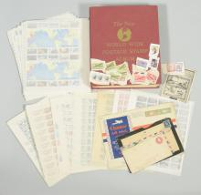 Collection of United States and World Stamp and Stamp Covers, c. 1881-1997