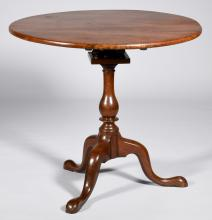 American Chippendale Tea Table, 18th c.