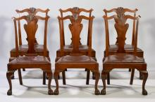 6 Alf Sharp Benchmade Dining Chairs