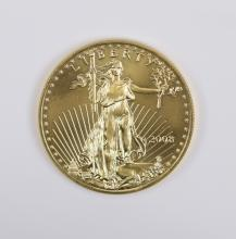 1 oz 22K American Gold Eagle Coin, 2008