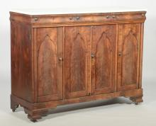 TN Gothic Revival Sideboard, Exhibited and Illustrated