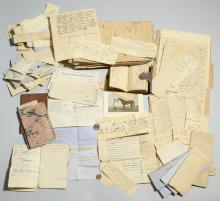 Harding Family archive, account book