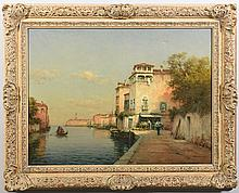 Antoine Bouvard O/C, Venetian Canal