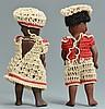 2 Kestner Black Barefoot Dolls