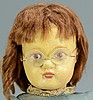 Schoenhut Character Doll with glasses