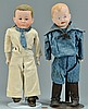 2 German Bisque Boy Dolls