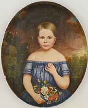 Tennessee Child Portrait, c.1850