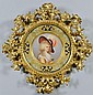 Royal Vienna Plate W/ Florentine Frame